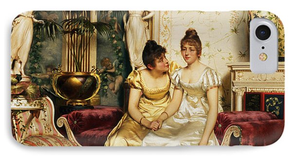 A Shared Confidence Phone Case by Joseph Frederick Charles Soulacroix