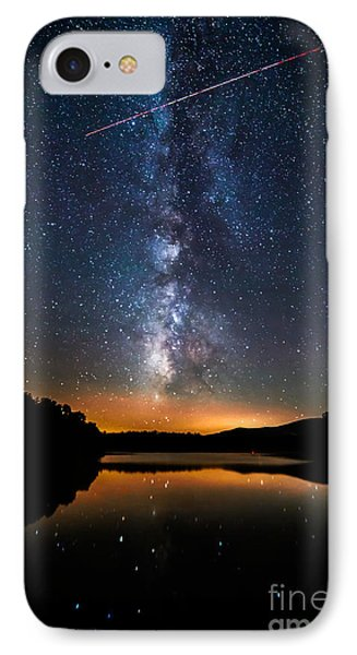 A Shooting Star IPhone Case by Robert Loe