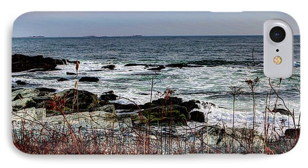 IPhone Case featuring the photograph A Shoreline In New England by Tom Prendergast