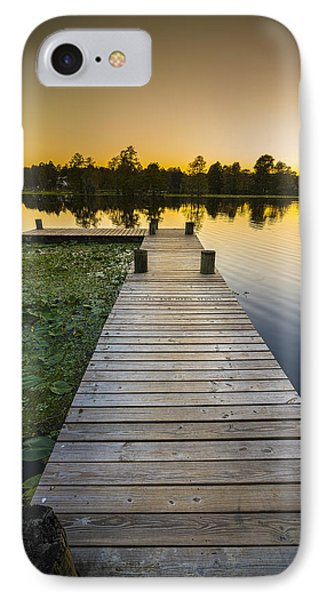 A Short Walk IPhone Case by Marvin Spates