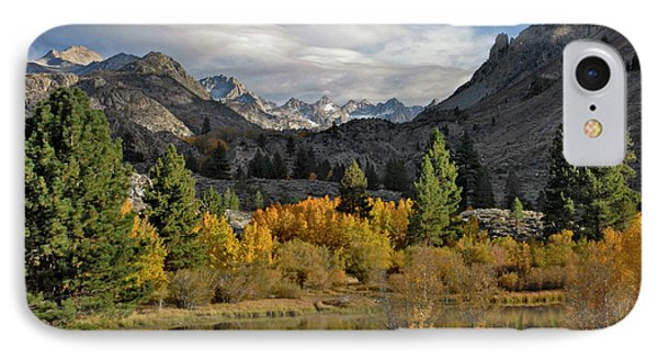 A Sierra Mountain View IPhone Case by Dave Mills