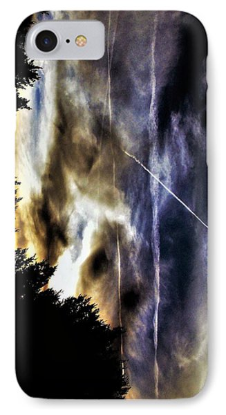 A Sign Of The Time IPhone Case by SeVen Sumet