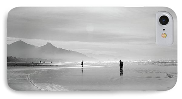 A Silver Day On The Beach Phone Case by Dan Dooley