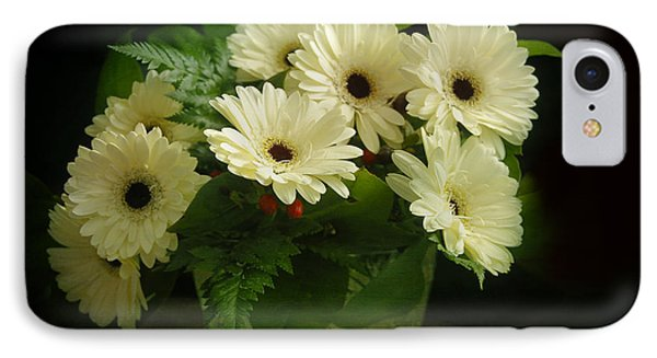 A Simple Bouquet Phone Case by Nancy Dempsey