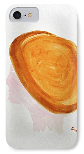IPhone Case featuring the painting A Simple Hat by Sandy McIntire