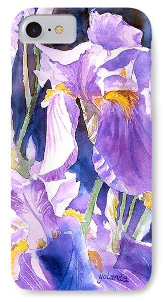 A Single Iris IPhone Case by Yolanda Koh