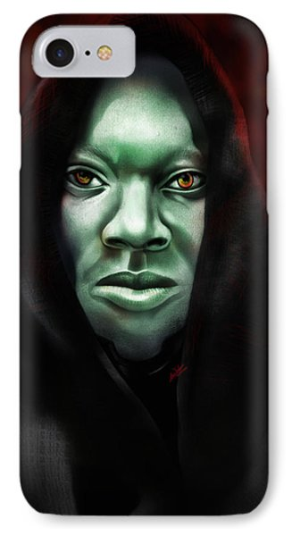 IPhone Case featuring the digital art A Sith Fan by AC Williams