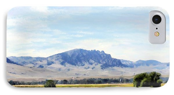 IPhone Case featuring the painting A Sleeping Giant by Susan Kinney