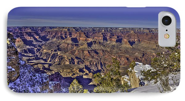 A Snowy Grand Canyon IPhone Case