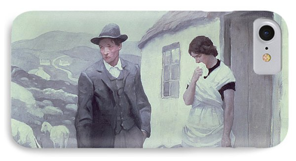 A Son Of His Father  IPhone Case by Newell Convers Wyeth