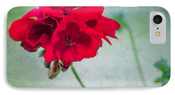 IPhone Case featuring the photograph A Splash Of Red by Betty LaRue