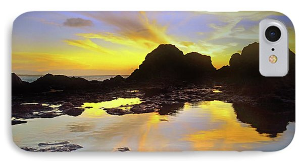 IPhone Case featuring the photograph A Splatter Paint Sunset by Tara Turner