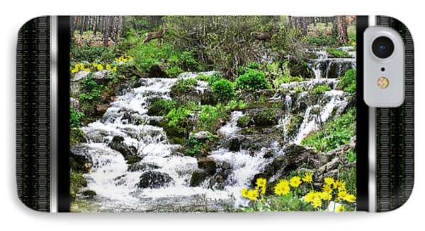 IPhone Case featuring the photograph A Splendid Day On Logging Creek by Susan Kinney