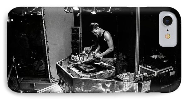 A Spray Painter Working In Las Vegas IPhone Case by RicardMN Photography