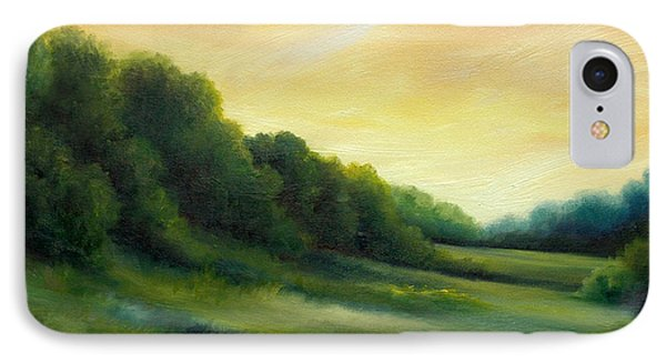 A Spring Evening Part Two Phone Case by James Christopher Hill