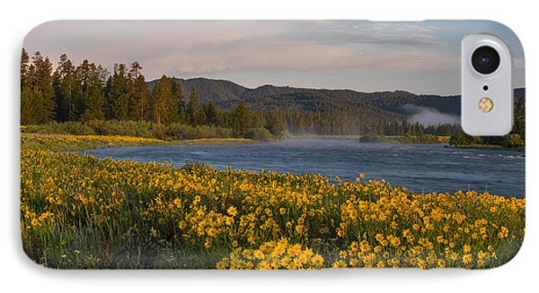 A Spring Morning IPhone Case by Leland D Howard