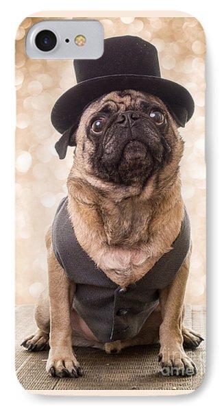 A Star Is Born - Dog Groom IPhone Case by Edward Fielding