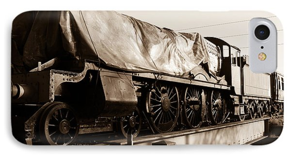 A Steam Train Under The Covers IPhone Case by Steven Sexton