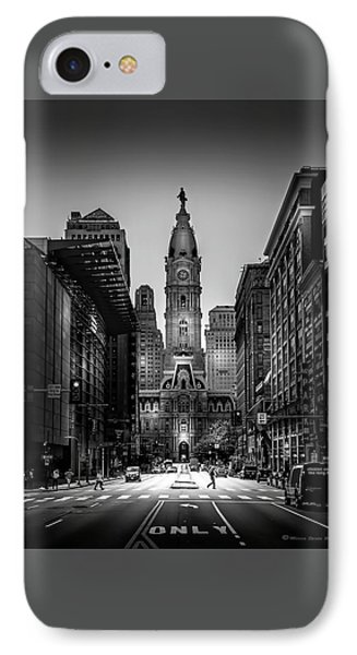 A Step Above B/w IPhone Case by Marvin Spates