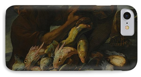 A Still Life Of Salt Water Fish With A Fisherman IPhone Case
