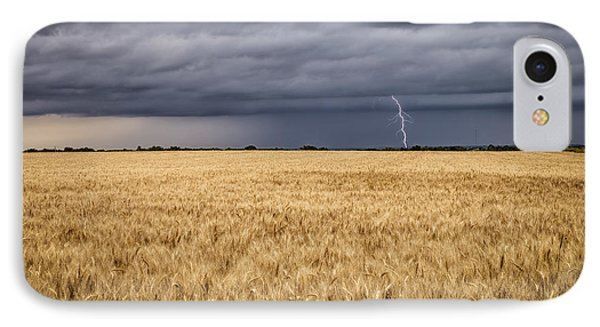 A Storm Passing By IPhone Case by Scott Bean