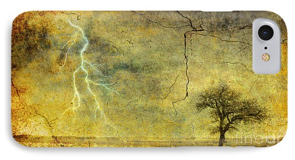 A Stormy Spring IPhone Case