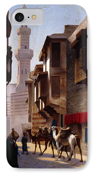A Street In Cairo IPhone Case