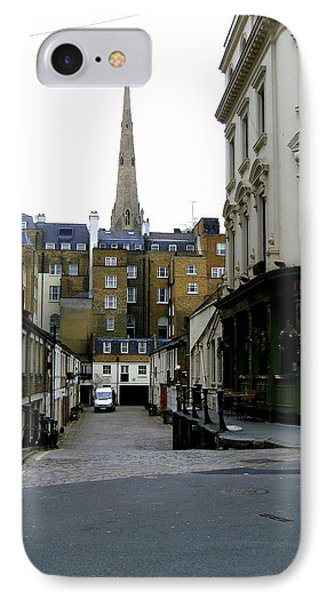 A Street In London Phone Case by Mindy Newman