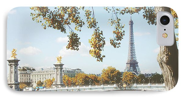 IPhone Case featuring the photograph A Stroll Along The River Seine In Paris by Ivy Ho