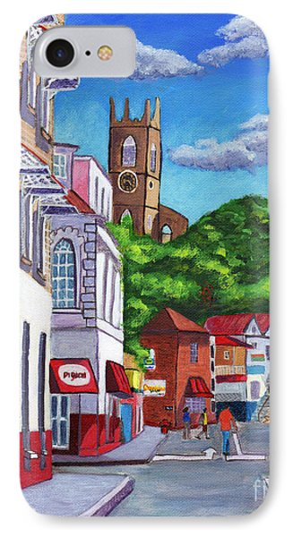 A Stroll On Melville Street IPhone Case