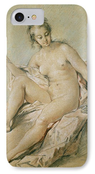 A Study Of Venus IPhone Case by Francois Boucher
