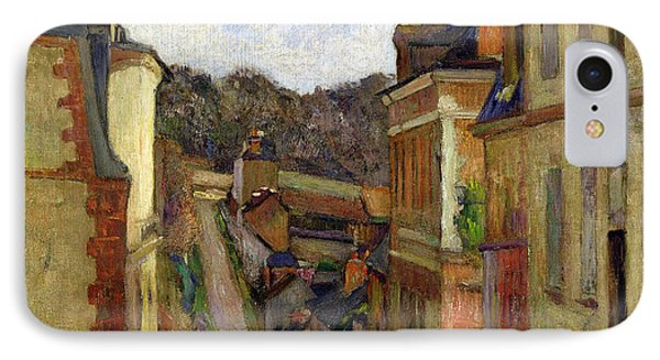 A Suburban Street IPhone Case by Paul Gauguin