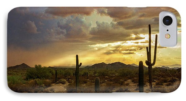 A Summer Evening In The Sonoran  IPhone Case
