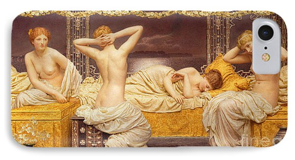 A Summer Night Phone Case by Albert Joseph Moore