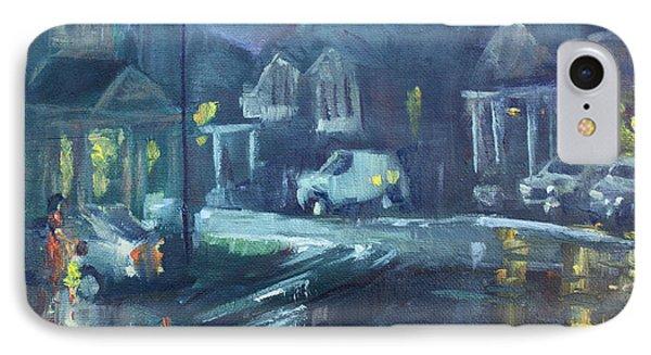 A Summer Rainy Night IPhone Case by Ylli Haruni