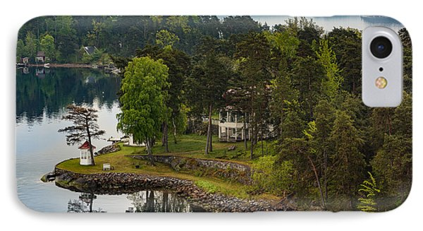 A Summer Retreat IPhone Case by Capt Gerry Hare