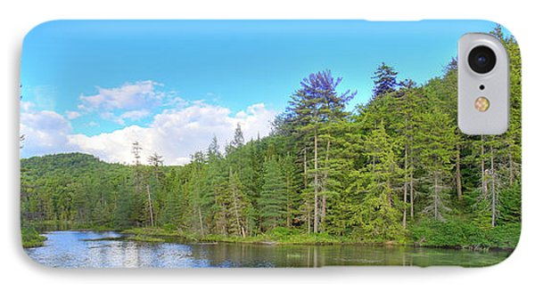 IPhone 7 Case featuring the photograph A Summers Day On Nicks Lake by David Patterson