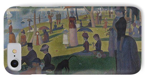 A Sunday Afternoon On The Island Of La Grande Jatte IPhone Case