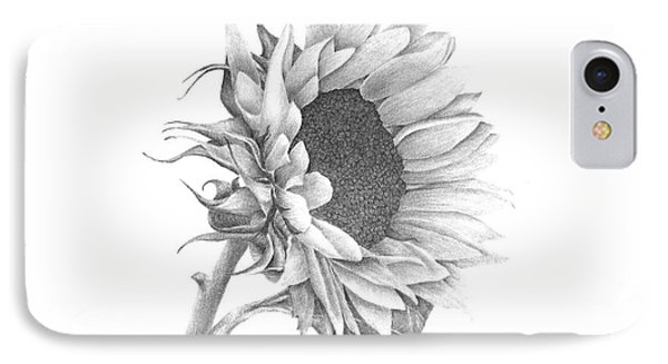 A Sunflowers Beauty IPhone Case by Patricia Hiltz