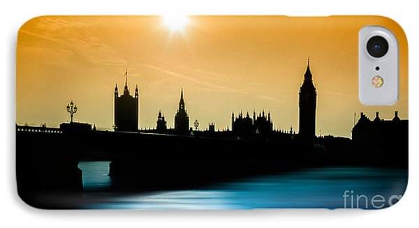 A Sunny Shape IPhone Case by Giuseppe Torre