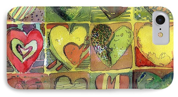 A Sunny Valentine Phone Case by Mindy Newman