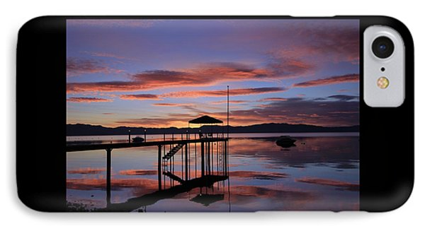 IPhone Case featuring the photograph A Sunrise To Wake The Dead  by Sean Sarsfield