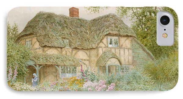 A Surrey Cottage Phone Case by Arthur Claude Strachan