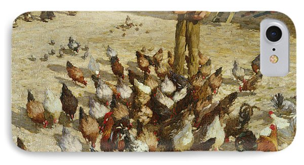 A Sussex Farm IPhone Case by Henry Herbert La Thangue