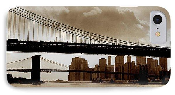 A Tale Of Two Bridges IPhone Case