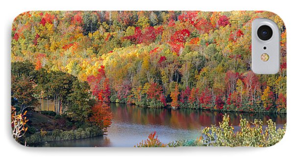 A Tennessee Autumn IPhone Case by Debbie Karnes