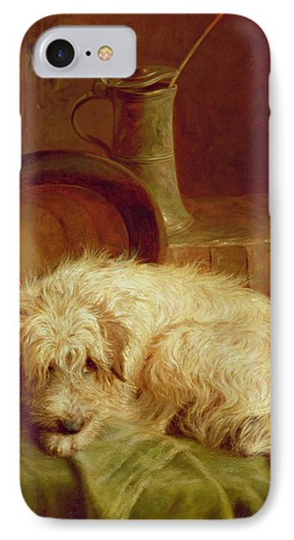 A Terrier IPhone Case by John Fitz Marshall