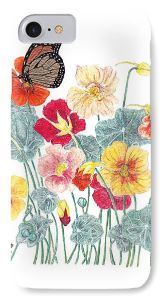 A Tethered Butterfly IPhone Case by Stanza Widen