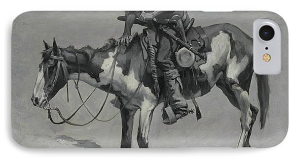 A Texas Pony, 1889  IPhone Case by Frederic Remington