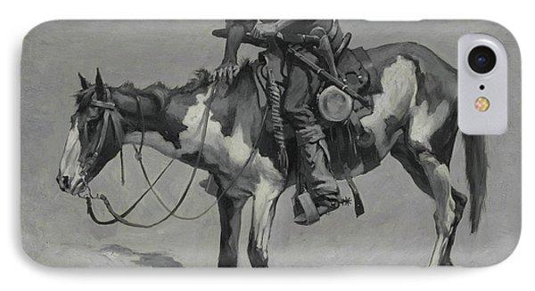 A Texas Pony, 1889  IPhone Case